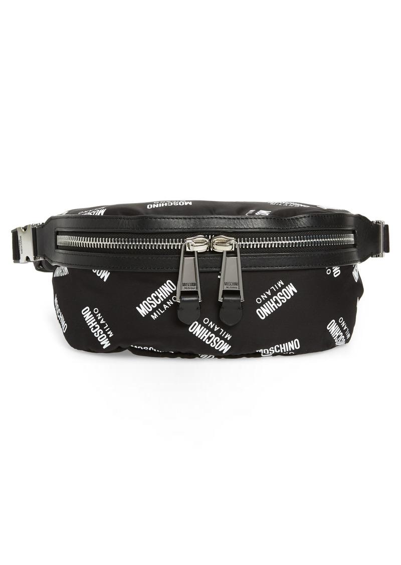 47b7a8db5 Moschino Moschino Logo Fanny Pack   Handbags