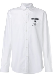 Moschino logo long-sleeved shirt