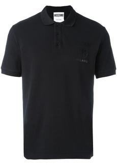 Moschino logo polo shirt - Black