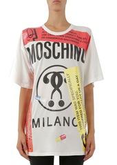 Moschino Logo Print Tee
