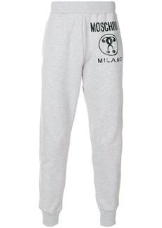Moschino logo tracksuit bottoms