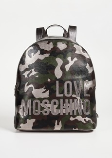 Moschino Love Moschino Camo Backpack