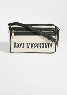 Moschino Love Moschino Canvas Crossbody Bag