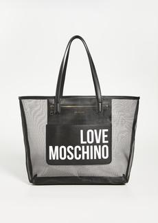 Moschino Love Moschino Mesh Tote