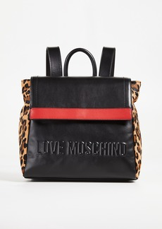 Moschino Love Moschino Stripe Backpack