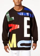 Moschino Men's Oversized Graphic-Print Sweatshirt