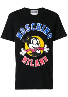 Moschino Micky logo T-shirt - Black