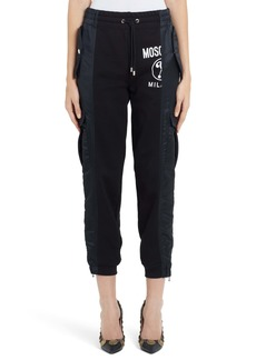 Moschino Mixed Media Joggers