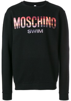 Moschino Swim sunset sweatshirt