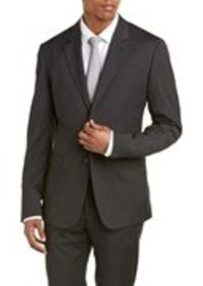 Moschino Moschino Wool-Blend Suit with Fl...