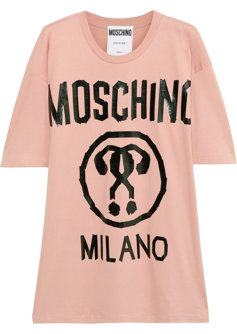 2c2f1ac878c5 On Sale today! Moschino Moschino Oversized printed cotton-jersey T-shirt