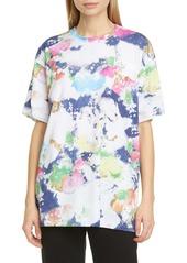 Moschino Paint Print Oversized T-Shirt