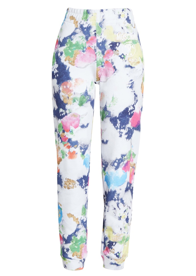 Moschino Paint Print Sweatpants