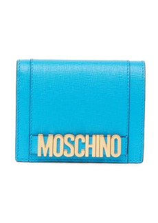Moschino Pebbled Leather Wallet