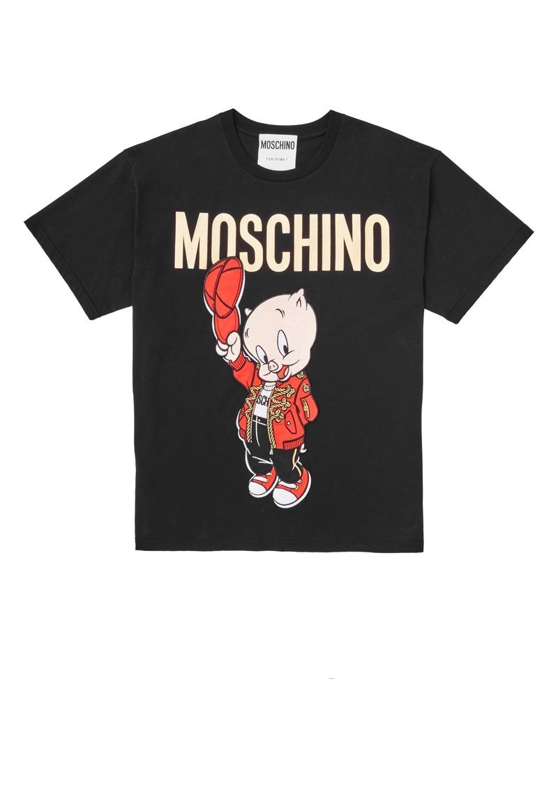 d05f81e94 Moschino Moschino Porky Pig Graphic Tee   Casual Shirts