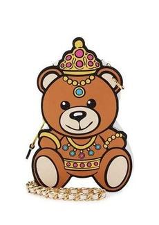 Moschino Princess Bear Chain Shoulder Bag