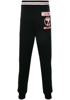 Moschino question mark logo joggers