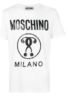 Moschino question mark T-shirt - White
