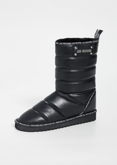 Moschino Quilted Boots