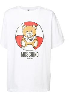 Moschino rubber ring teddy T-shirt - White