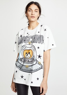 Moschino Spaceship Bear Oversize Tee