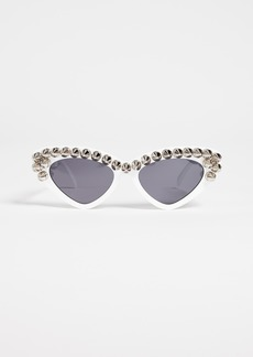 Moschino Spike Cat Eye Sunglasses