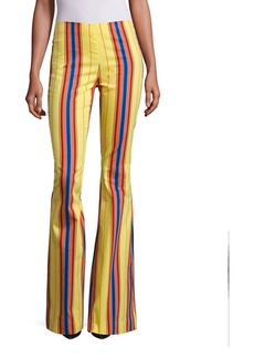 Moschino Striped Flare Pants