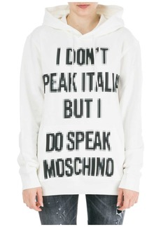 Moschino Sweatshirt Hood Hoodie Pixel Capsule
