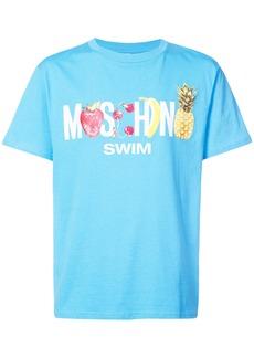 Moschino Swim Fruit T-shirt - Blue
