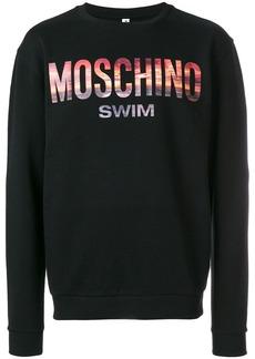 Moschino Swim sunset sweatshirt