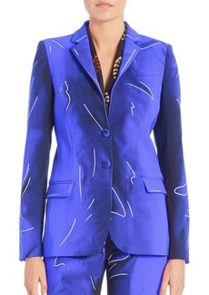 Moschino Tailored Two-Button Jacket