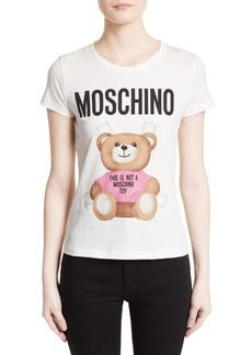 Moschino Teddy Bear Logo Tee