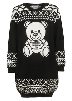 Moschino Teddy Bear Print Dress