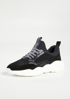 Moschino Teddy Lace Up Sneakers