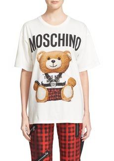 Moschino Teddy Print Cotton Tee