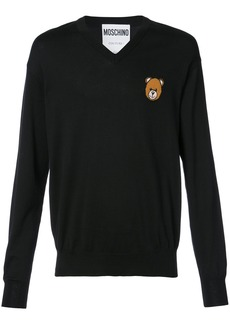 Moschino Teddy V-neck sweater