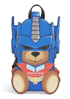 Moschino Transformer Bear Faux Leather Backpack