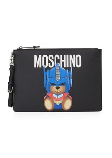 Moschino Transformers Bear Clutch