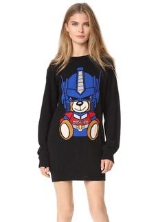 Moschino Transformers Bear Sweater Dress