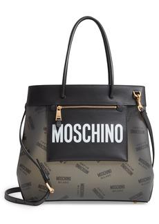 Moschino Translucent Logo Tote