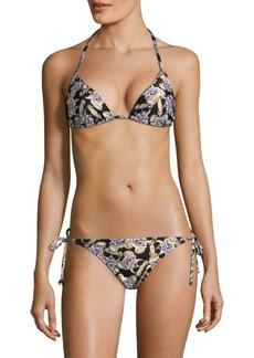 Moschino Two-Piece Teddy Bikini Set
