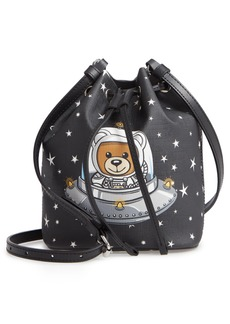 Moschino UFO Teddy Mini Bucket Bag