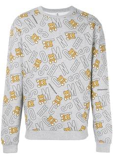 Moschino underbear logo sweatshirt - Grey