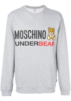 Moschino underbear sweatshirt - Grey