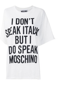 Moschino Vintage printed T-shirt - White