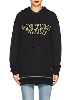 "Moschino Women's ""Couture Wars"" Cotton Hoodie"