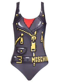 Moschino x Sims Pixel Capsule One-Piece Swimsuit