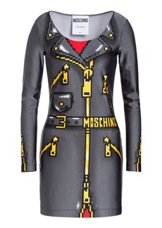 Moschino x Sims Pixel Capsule Lycra Dress
