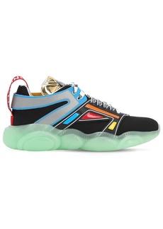 Moschino Multicolored High Techno Sneakers
