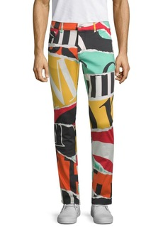 Moschino Multicolored Jeans